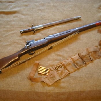 US Model 1917 Enfield Rifle