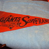 VINTAGE PHILLIES AND GIANTS PENNANTS