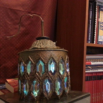 Brass Lighting Fixture - Lamps