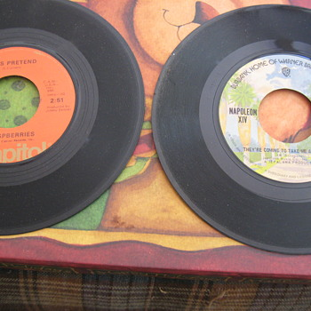 Old 45's - Records