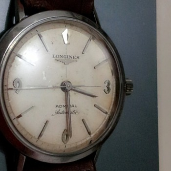 HIs thos LONGINES ADMIRAL AUTOMATIC EAGLE 1200 frm the 1830s real??.. - Wristwatches