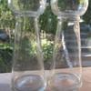 Antique hyacynth vases.