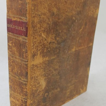 1823, Daniel Smith Stereotype Edition, PLATES, Testaments, Apocrypha