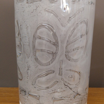 Rare Thalatta No 1 'fjäril' vase - Art Glass