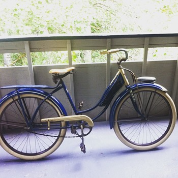 1948 Goodyear Marathon bicycle