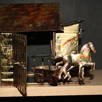 horse and buggy music box - Music