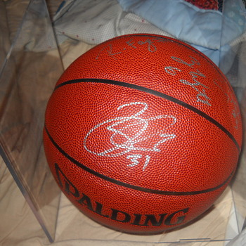 Minnesota Timberwolves signed basketball