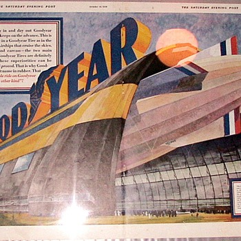 1929 Goodyear ad - Advertising