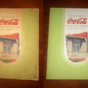 A 1940s Coca-Cola booklet upgrade
