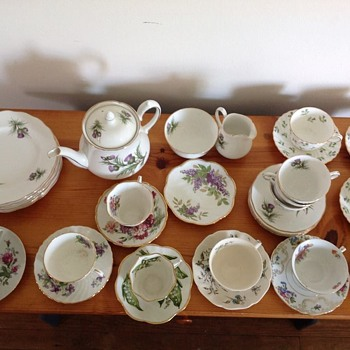 English Tea Set - China and Dinnerware