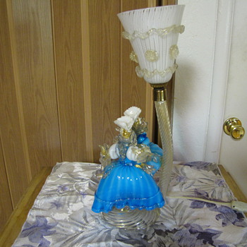 Murano Lamp - Art Glass