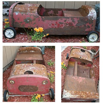 Unknown maker of early pedal car - Toys