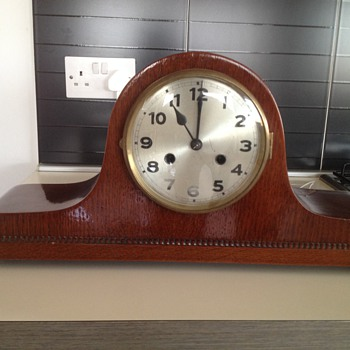 Mystery mantle napolian clock
