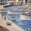 Mildred Rackley Simon - Serigraph of Ibiza 88/150