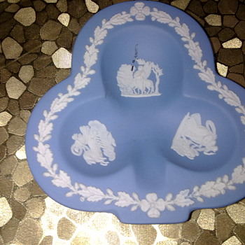 WEDGEWOOD JASPER WARE TRINKET TRAY - China and Dinnerware
