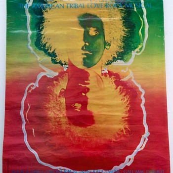 HAIR The Musical 1969 Advertising Poster  - Advertising
