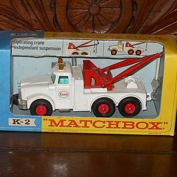 Matchbox King Size Scammell Heavy Wreck Truck - Model Cars