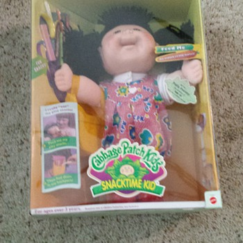 1997 snacktime kid cabbage patch  kid