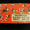 Mid 30's 'English' Mickey Mouse Wristwatch Box