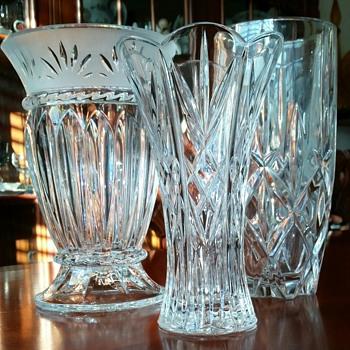 Crystal Vases - Glassware