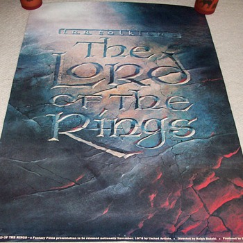 The Lord Of The Rings Promotional Poster