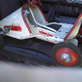 Atkins pedal car  - Model Cars