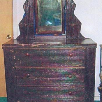1903 handcrafted dresser - Furniture