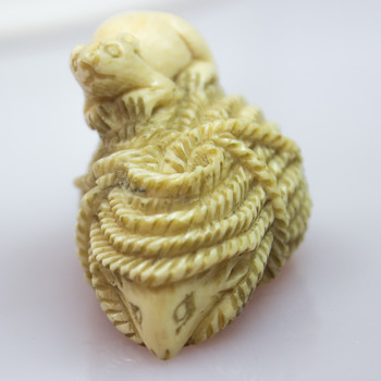 Netsuke from a market stall - Asian
