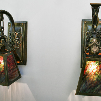 Arts & Crafts Sconces - Arts and Crafts
