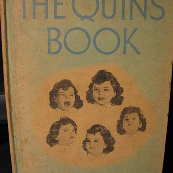 The Quins Book by Jean Ayer 1937