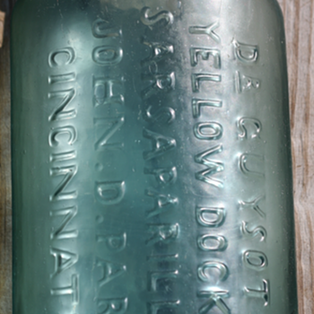 ~~~Old Pontiled Medicine Bottle~~~ - Bottles