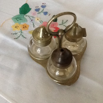 Salt and Pepper Cruet