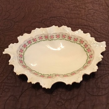 Habsburg China Dish - China and Dinnerware