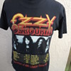 Reversed Ozzy Osbourne 1992 Theatre of Madness Concert Shirt with Harley Davidson Label