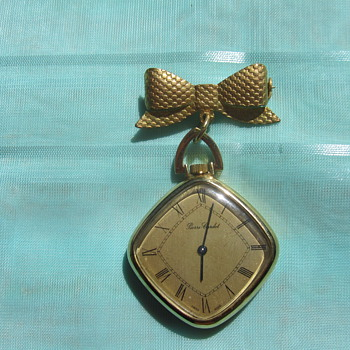 Watch Pendant - Costume Jewelry