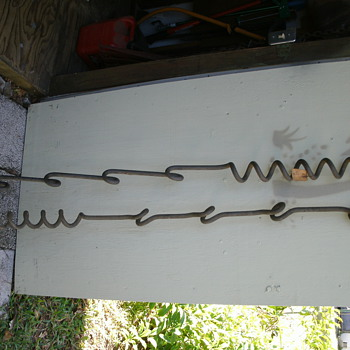 WW1 barb wire fence posts - Tools and Hardware