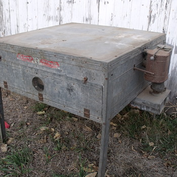 """Old Trusty"" egg incubator"
