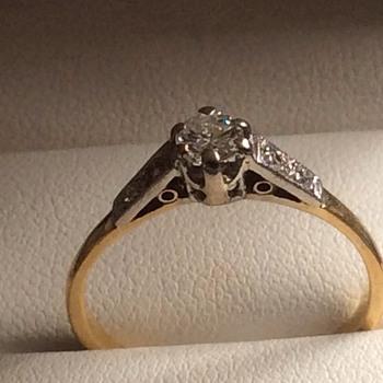 Art Deco diamond ring, - Fine Jewelry