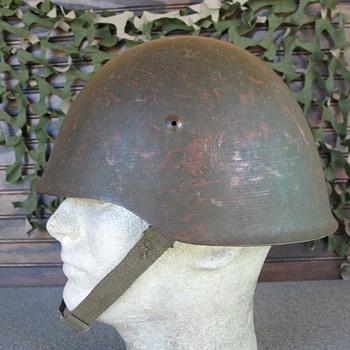 Portuguese M940/63 steel helmet