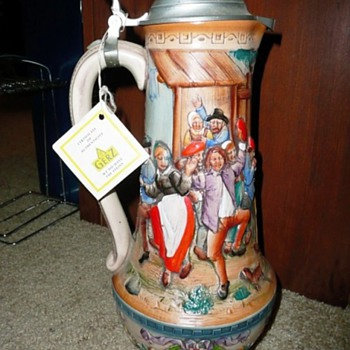 Gerz German Beer Stein - Breweriana