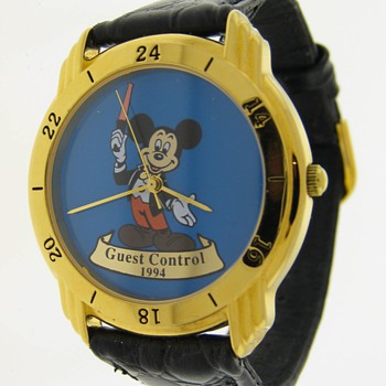 Staff Only Mickey Watch - Wristwatches