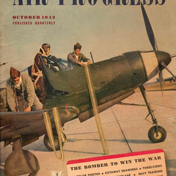 "1942 - ""Air Progress"" Magazine - Paper"