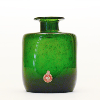 Mistery Holmegaard vase (Holmegaard, 1960s?) - Art Glass