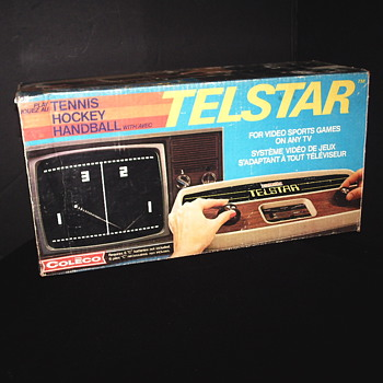 "Telstar video games system""1976"""
