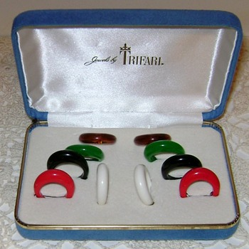 Trifari Rings  - Costume Jewelry