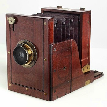 Morley Wet Plate Field View Camera. Mid-1860s.