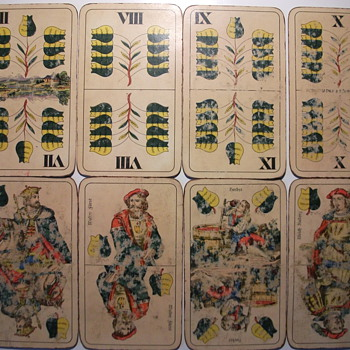 wilhelm tell deck by piatnik - Cards
