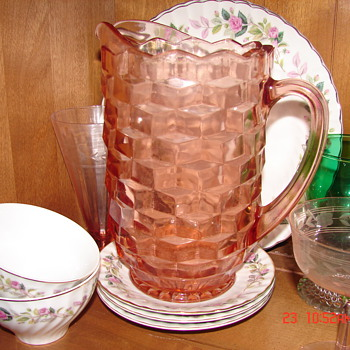 Pink Pitcher - Glassware