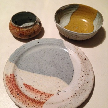 Small pottery collection - Art Pottery