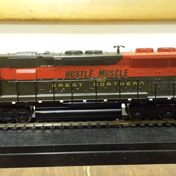 GN Hustle Muscle SD45 - Model Trains